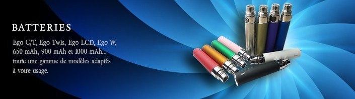 Batteries Ego 1100 et plus - Cigarette électronique, e-cigarette, dlice, batterie EGO, EGOT